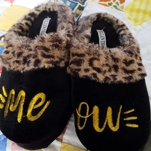 Me Ow.  Slippers